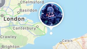 English Channel Shipwrecks – Dover – Folkestone – Kent