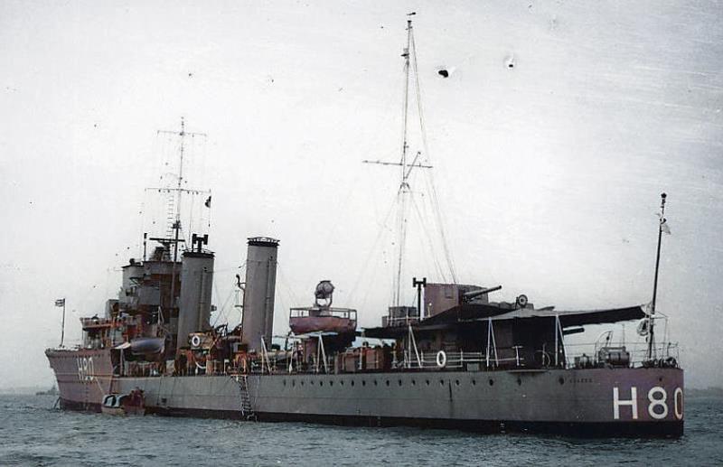 HMS Brazen (H80)