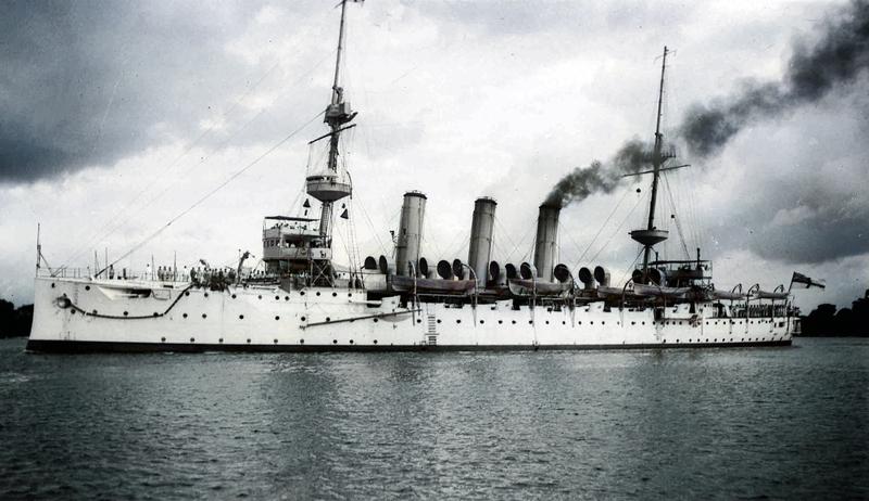 HMS Hermes 1914
