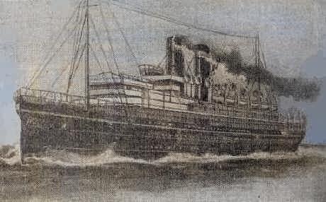 SS Maloja - 1916
